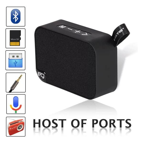 Egate 303 Portable Bluetooth Speaker/5W (Black)