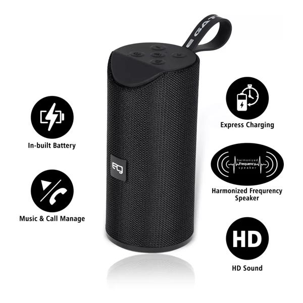 Egate 426 Water Resistant Bluetooth Speaker (Black)