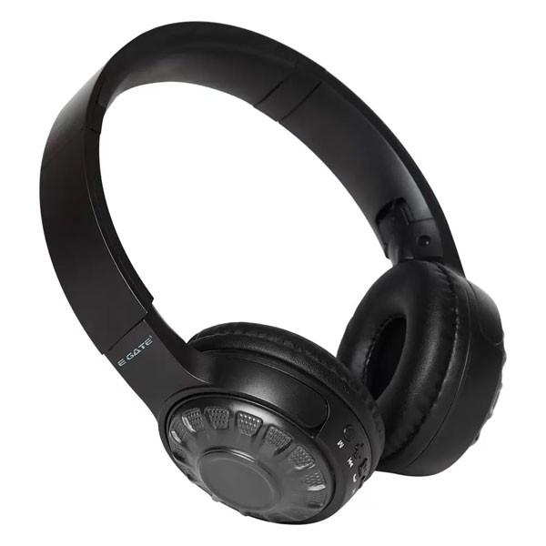 Egate 303 On-Ear Stereo Wireless Bluetooth Headphone with Mic (Black)