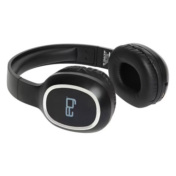 Egate 204 On-Ear Wireless Bluetooth Headphone with Mic (Black)