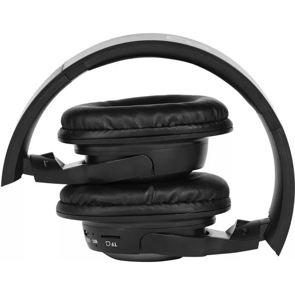 Egate 405 On-Ear Wireless Bluetooth Headphone with Mic (Black)