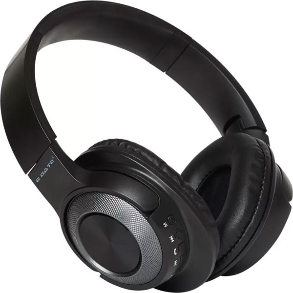 Egate 405 On-Ear Wireless Bluetooth Headphone with Mic (Grey)