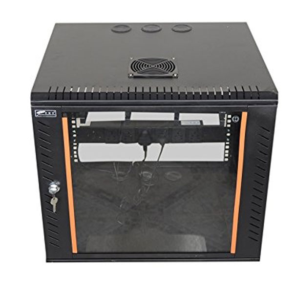 EMS 9U X 550W X 400D Wall Mount Rack