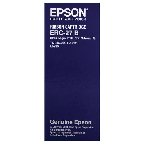 Epson- C43S015366, ERC-27,Original Black POSC Ribbon