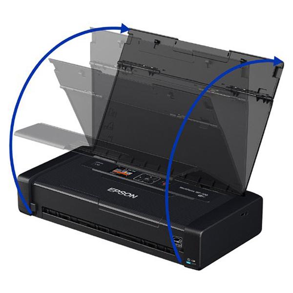 Epson WorkForce 100- (C11CE05503 )Wireless Mobile Printer, 1 Year Warranty
