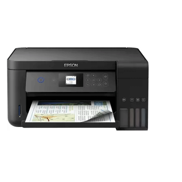 Epson L4160 Multi-function Wireless Printer (Black, Refillable Ink Tank)