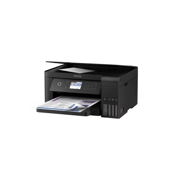 Epson L6160 Multi-function Wireless Printer (Black, Refillable Ink Tank)