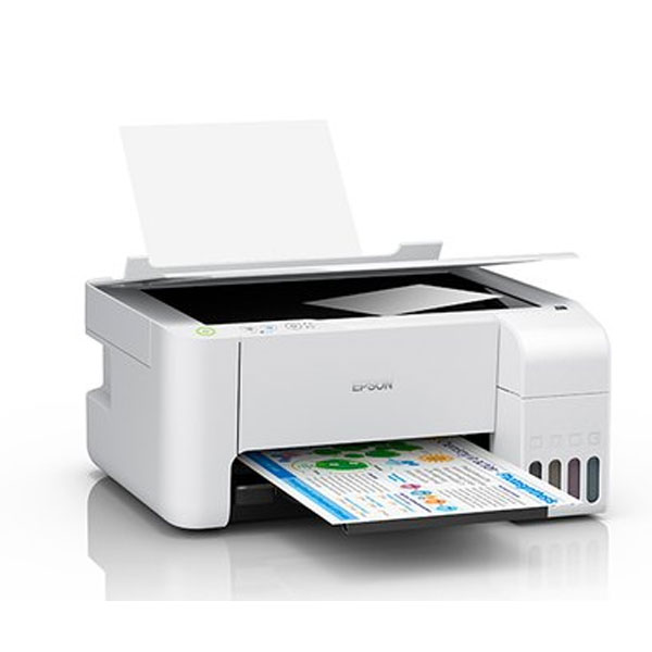 Epson EcoTank L3116 MultiFunction Inktank Printer (White)