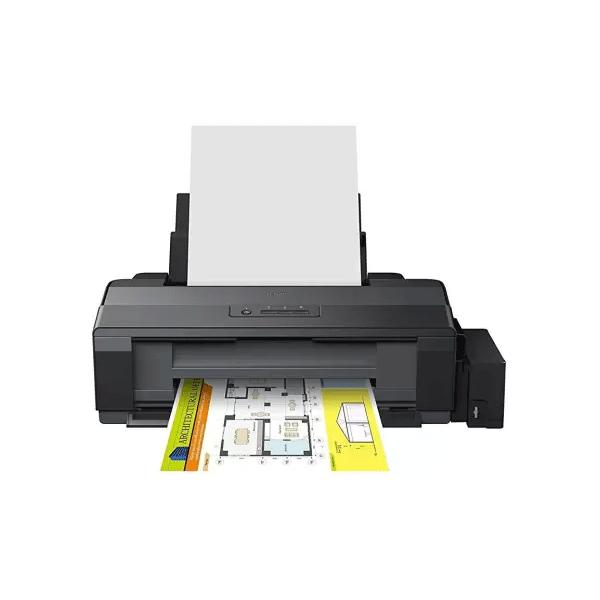 Epson L1300 Single Function Inkjet Printer (Black, Refillable Ink Tank)