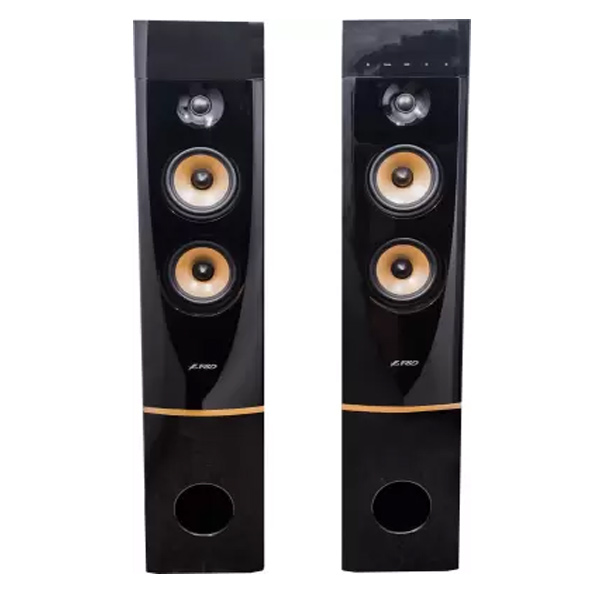 F&D T-88X 300 W Bluetooth Tower Speaker (Black, 2.0 Channel)