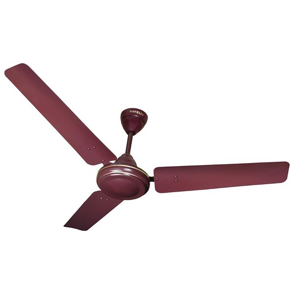 Havells ES - 50, Five Star, 1200 mm Ceiling Fan,Brown, 1 Year Warranty