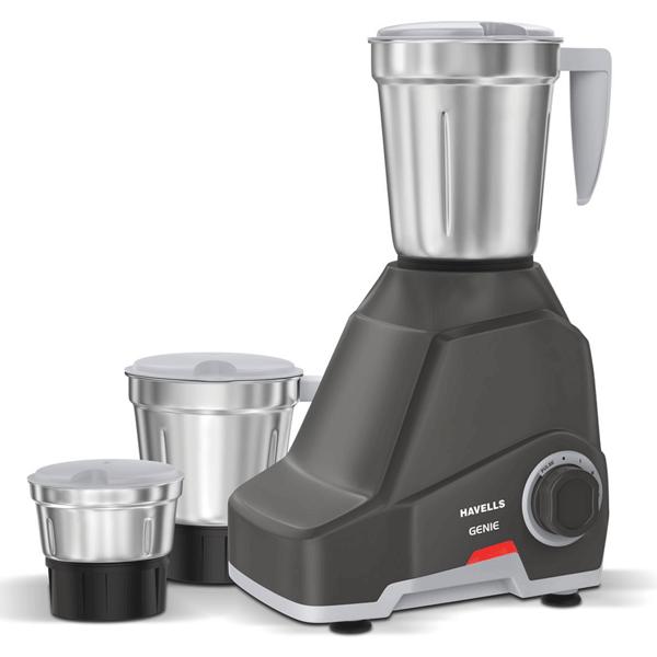 Havells Genie Mixer Grinder 500W Dark Grey