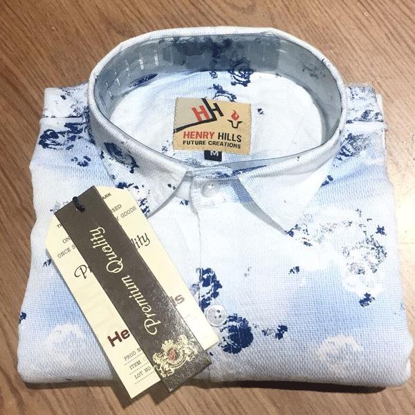 Henry Hills HH-66 Cotton Full Sleeves Men's Shirt