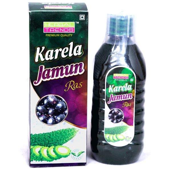 Herbal Trends Premium Karela Jamun Juice- Pure, Fresh, Undiluted, Unadulterated, 100% Natural