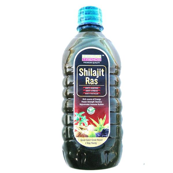 Herbal Trends Premium Shilajit Ras - Power of 8 Herbs- Mineral Superfood- Destroyer of Weakness
