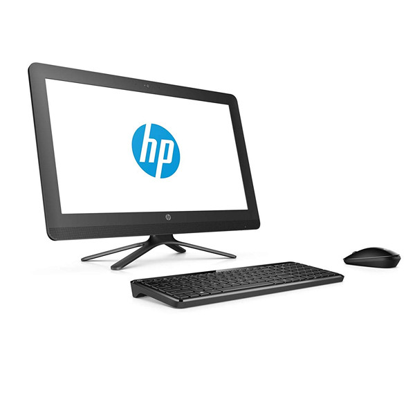 "HP 20-C416iL All-in-One Desktop (Celeron Dual Core/4GB RAM/1TB HDD/19.5""/Wireless KB & Mouse/ DOS/ 1Year Warranty), Black"