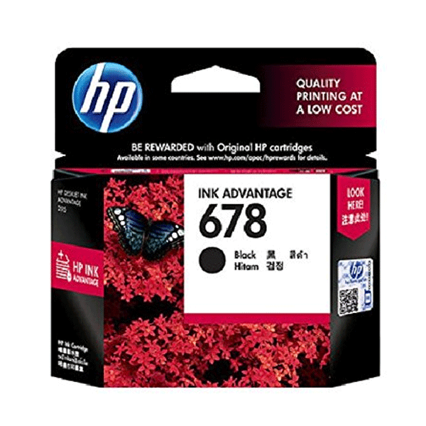 HP 678 (CZ107AA) Ink Advantage Cartridge Black