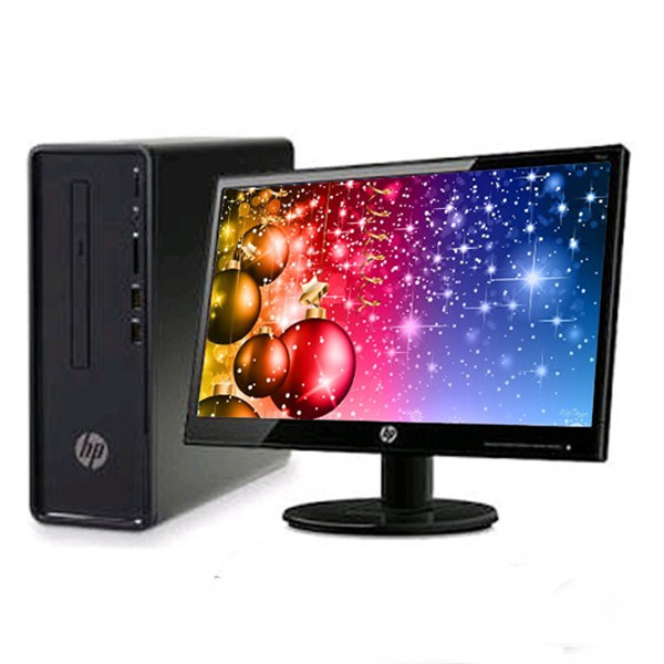 HP 190 0300il (4YR36AA) Desktop( 8th Gen Intel Core i3/ 4GB RAM/ 1TB HDD/ DOS/ 19.5 inch Screen/ Black)