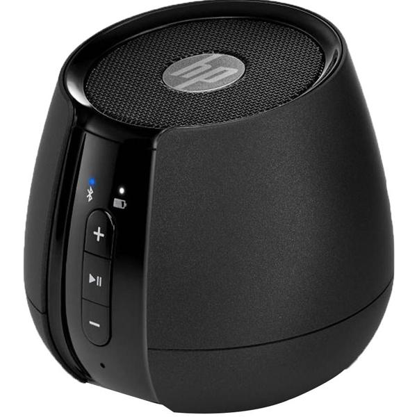 HP- S6500, Mini Bluetooth Speakers , Black, 1 Year Warranty