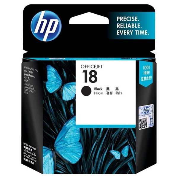 HP 18 Black Ink Cartridge C4936A