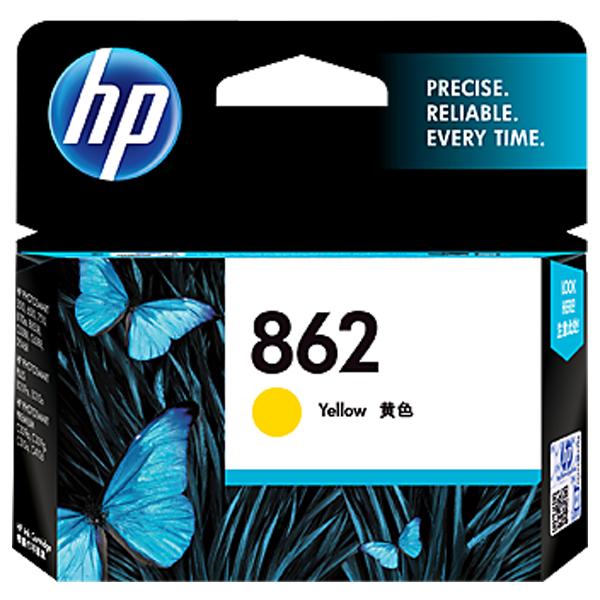HP 862 Yellow Ink Cartridge - CB320ZZ, 1 Year Warranty