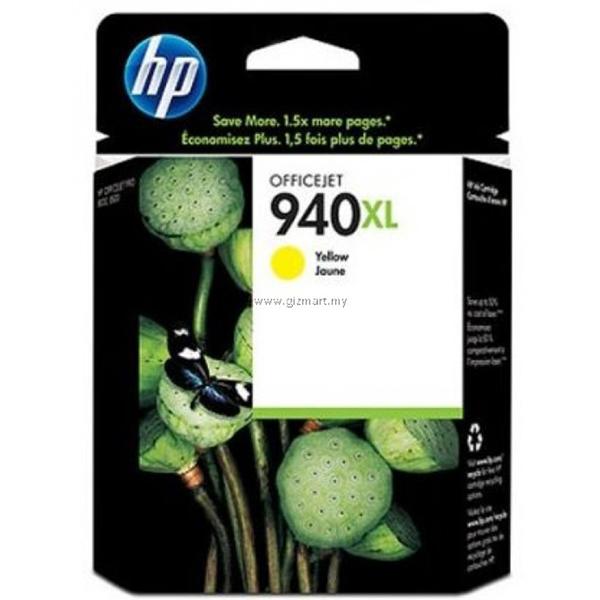 HP 940XL Yellow Officejet Ink Cartridge C4909AA
