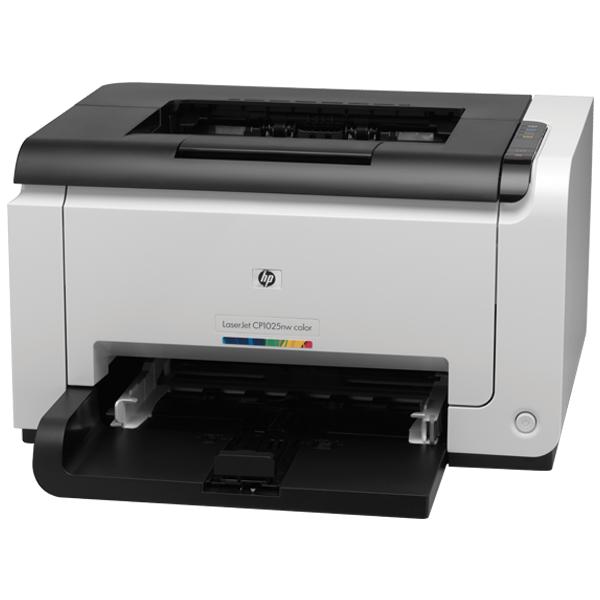 HP LaserJet Pro CP1025 Color Printer- CF346A, 1 Year Warranty