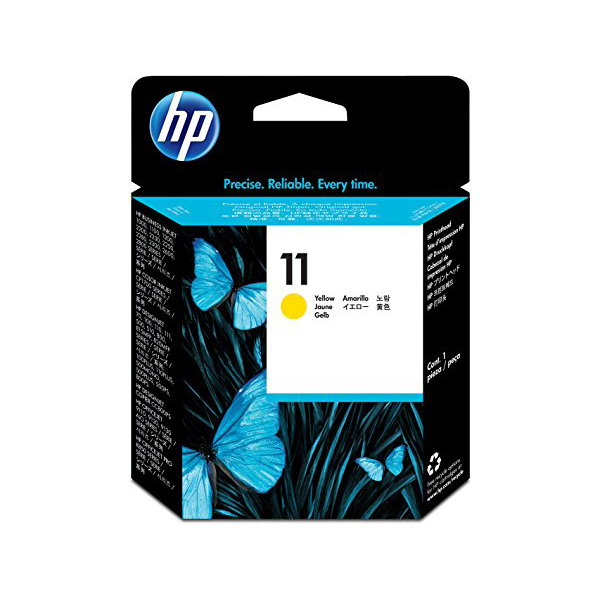 HP No 11 Yellow Ink Cartridge C4838A