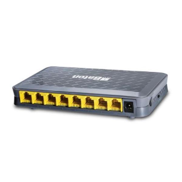 iBall Baton (iB-LRPD17E)7-Port 10/100M RPoE Switch + 1-Port Uplink