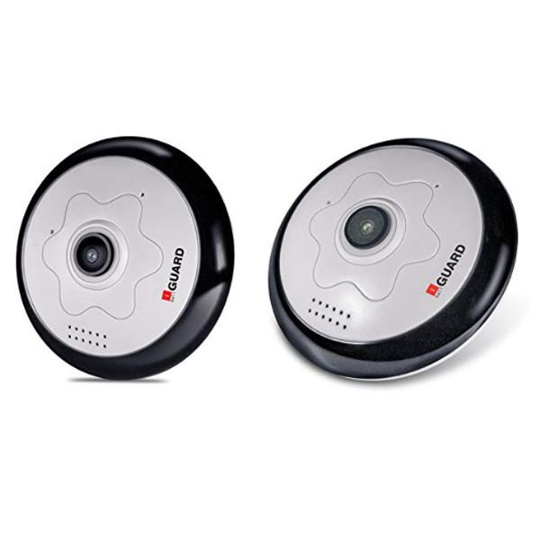 iball (iB-HDF2013F) Wifi CCTV Camera Panoramic 2.0MP HD (White)
