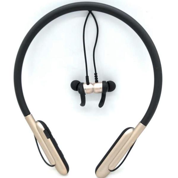 iGATS V-26 Sweatproof Sports Headphones, Black
