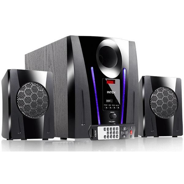 Intex 2.1 XV 2100 DG FMUB Speakers
