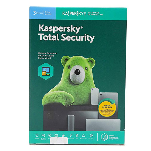 Kaspersky Total Security 3 User 3 Years