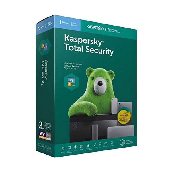 Kaspersky Total Security 1 User, 1 Year
