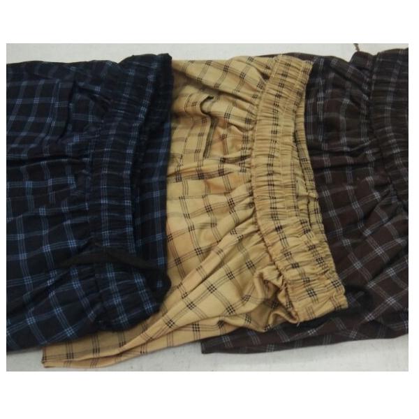 kudos Nikker Satin Check 3XL Bermuda Shorts (Multi)