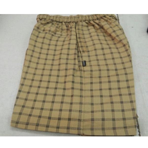 Kudos Nikker satin check XL Bermuda Shorts (Multi)