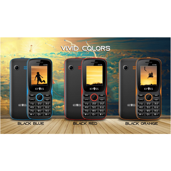 "KYTES KANE Dual Sim/ FM Radio/ 1.8""/ MP3 Player / SOS Function/ Multi-Language (Mix Colour)"
