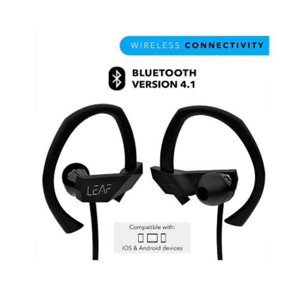 Leaf Sport Wireless Bluetooth Earphone with Mic