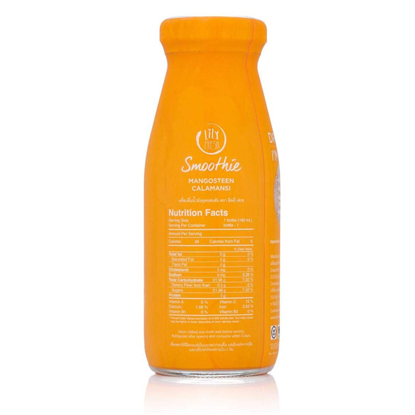 Lily Fresh - Imported Mangosteen Calamansi Juice - 180 ml