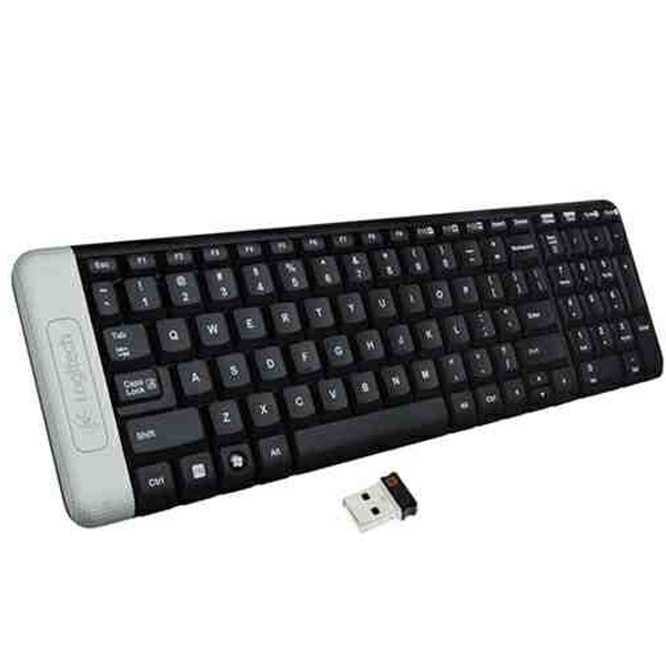 Logitech- K230, Wireless Keyboard, Black, 1 Year Warranty