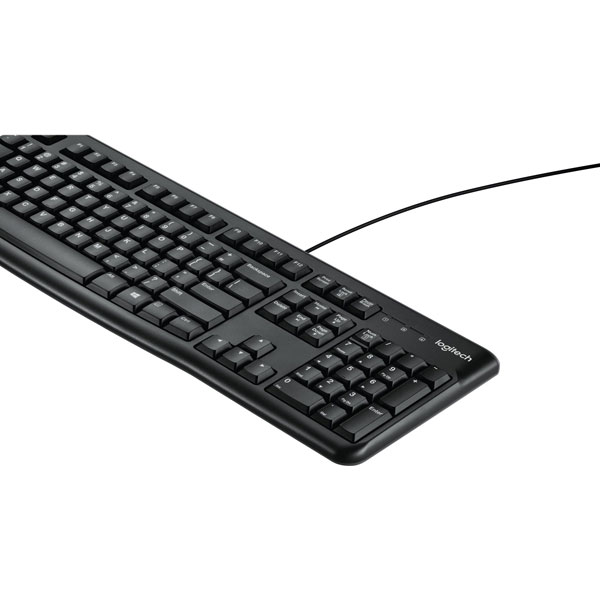 Logitech K120 keyboard English (Black)