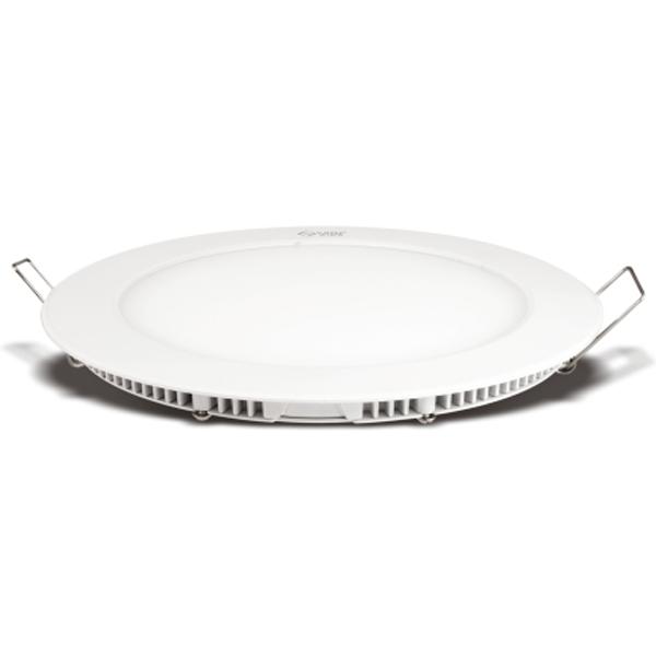 Vin Luminext RLP 18, Round Slim Panel Light 18W, Warm White, 2 Years Warranty