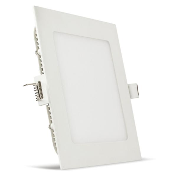 Vin Luminext SLP 6, Square Slim Panel Light 6W, Warm White, 2 Years Warranty