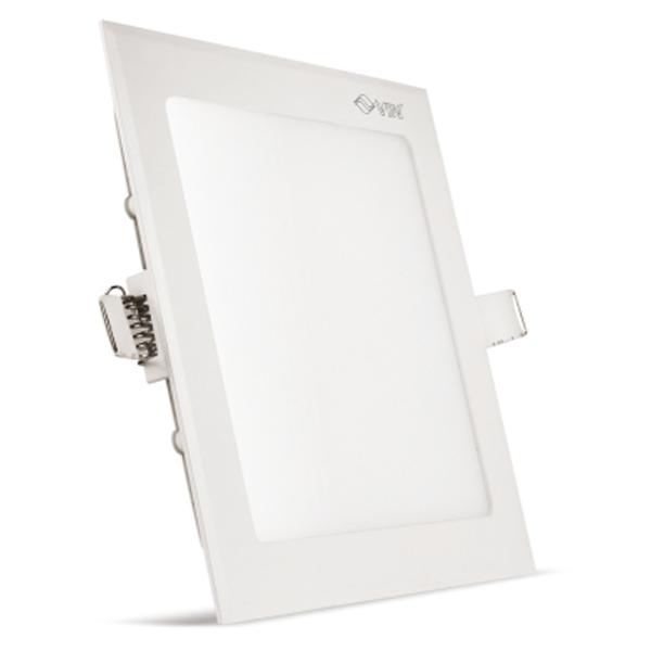 Vin Luminext SLP 12, Square Slim Panel Light 12, Warm White, 2 Years Warranty