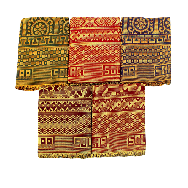 Mandhania (DCS01) Dollar Solapur Chaddar 100% Cotton Dailyuse Single Bed Blanket (Assorted Design and Color)