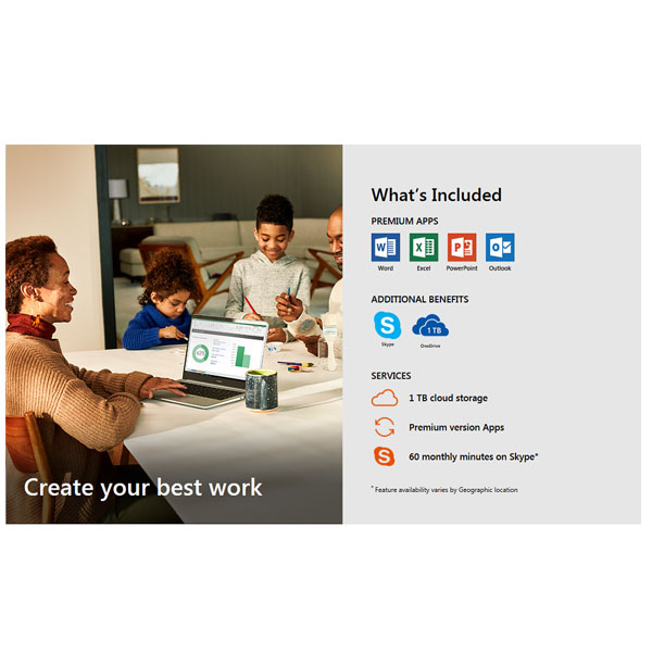 Microsoft Office (0365-Home) 2019 (E-Delivery)