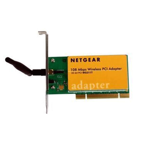 Netgear WG311T 108 Mbps Wireless PCI Adapter