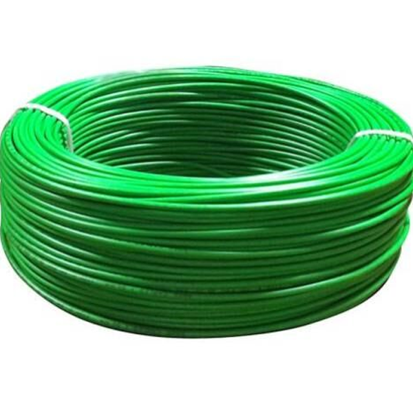 Niki- 0.5(16/20) SQmm FR Insulated FR Insulated Single Core PVC Cable (Green)