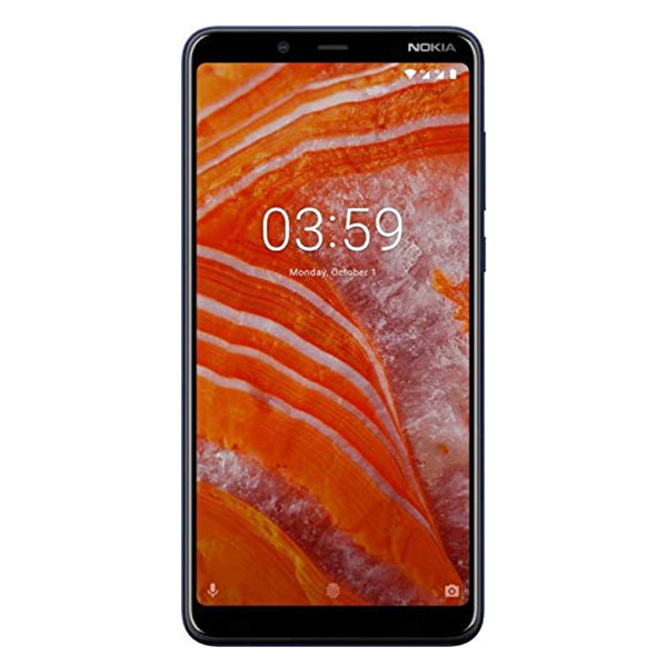 Nokia 3.1 Plus/ 3GB RAM/ 32GB Storage ( Blue Color)