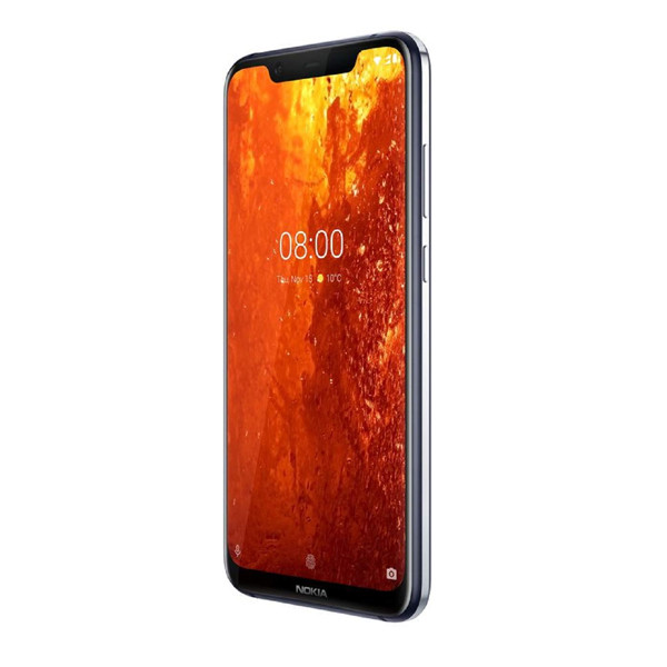Nokia 8.1 ( 4GB RAM/ 64GB Storage),iron